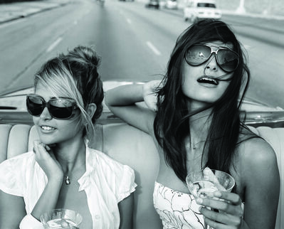 Michael Dweck, 'Giselle and Rachel on the Malecon ', 2009
