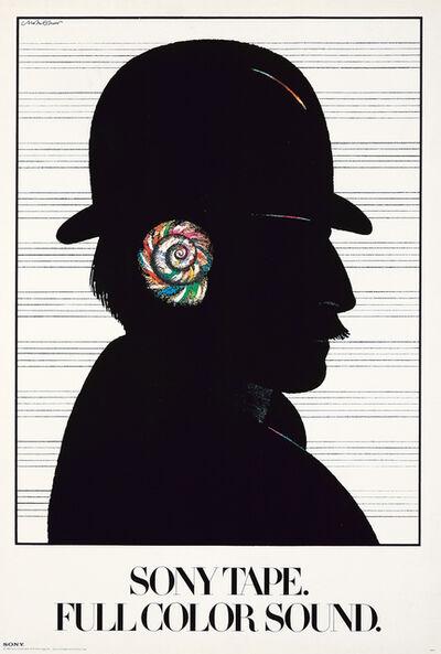 Milton Glaser, 'Milton Glaser Sony Tape, Full Color Sound poster 1980 (Milton Glaser posters)', 1980
