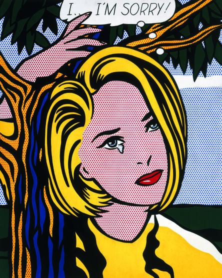 Roy Lichtenstein, 'I...I'm Sorry!', 1965-1966