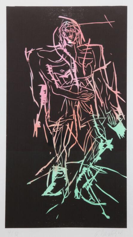 Georg Baselitz, 'Shepherd (Remix)', 2008