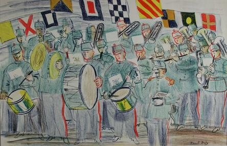 Raoul Dufy, 'The Band', 1949