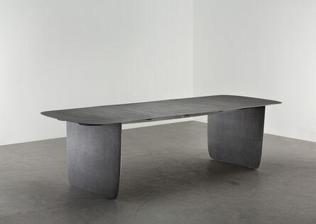Aki and Arnaud Cooren, 'Tiss-Tiss Dining Table Black', 2019