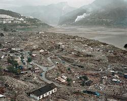 Edward Burtynsky, 'Three Gorges Dam Project, Feng Jie #7, Yangtze River, China', 2002