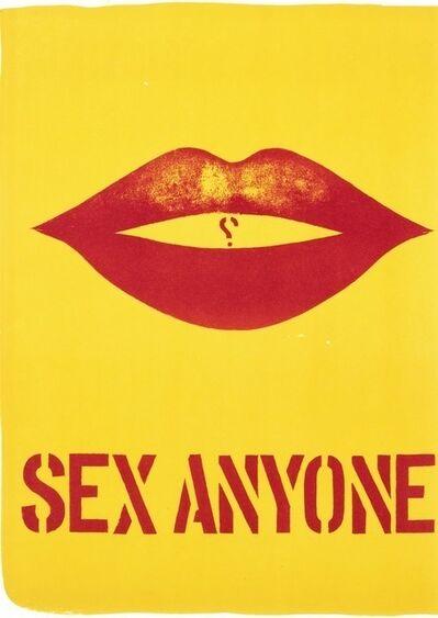 Robert Indiana, 'Sex Anyone', 1964