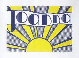 Roy Lichtenstein, 'Joanna (C III.24)', 1968