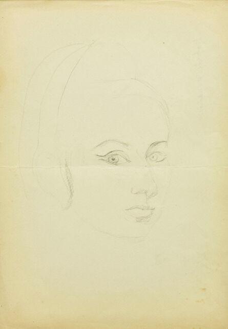 Maria Pinińska-Bereś, 'Self-portrait', ca. 1960
