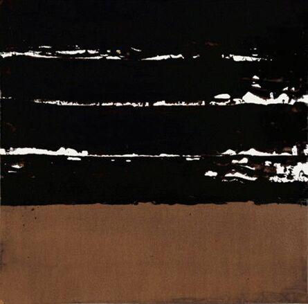 Pierre Soulages, 'Brou de noix', 1999