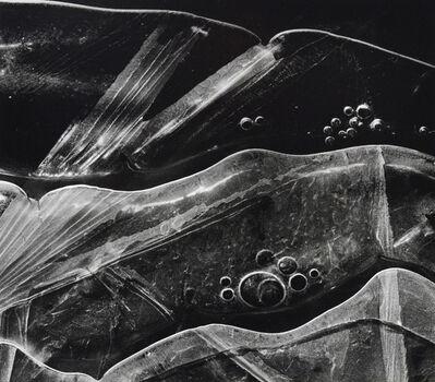Brett Weston, 'Ice Forms, Oregon', 1970