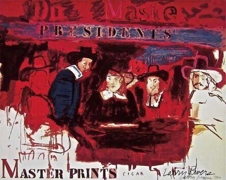 Larry Rivers, 'Dutch Masters', 1991