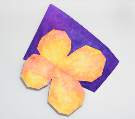 Wonwoo Lee, 'Hidden clover (yellow)', 2017