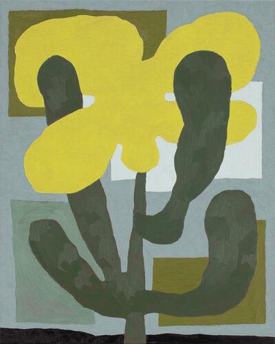 Jordy van den Nieuwendijk, 'Flower in Greens', 2021