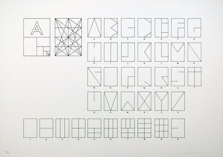 Mateo López, 'Tipografía de papel', 2012