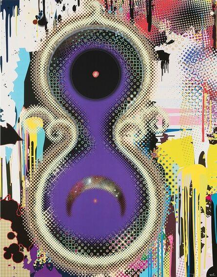 Takashi Murakami, 'Genome No. 10⁷ × 2¹²²', 2010