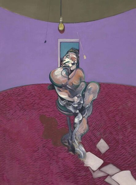 Francis Bacon, 'Portrait of George Dyer', 1966
