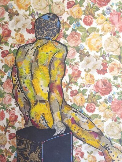 Keith Young, 'Floral Yellow Nude', 2021