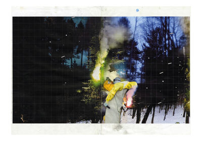 Justin Mortimer, 'Study for 'Zona'', 2016