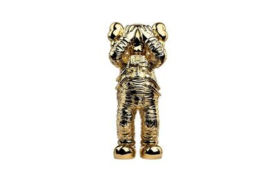 """KAWS, 'Holiday Space: 11.5"""" 20th anniversary edition (gold)', 2020"""