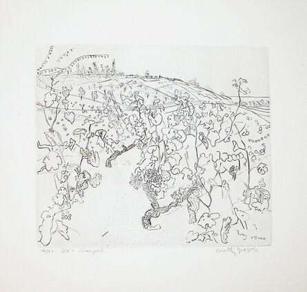 Anthony Gross, 'Leo's Vineyard', 1975