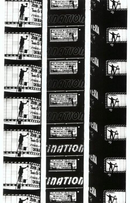 "William Klein, 'Filmstrips from ""Broadway by Light "" # 2, New York', 1958"