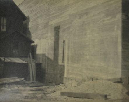 John Vanderpant, 'Untitled (house and beams)', ca. 1930