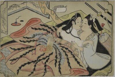 Sugimura Jihei, 'Untitled erotic picture', Mid 1680s