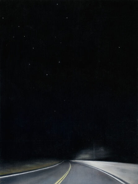 Linda Davidson, 'Night Road 2', 2015