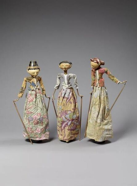 'Ensemble of marionettes ', 20th century