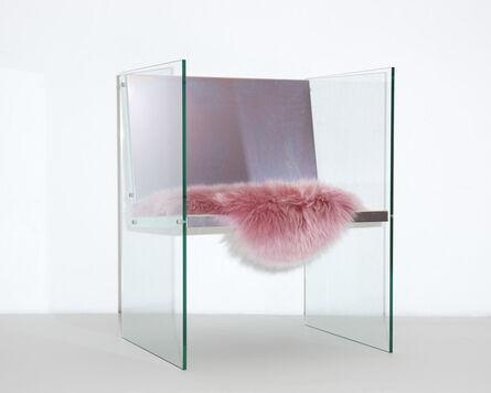 Fredrik Paulsen, 'Glass & Steel Chair', 2017