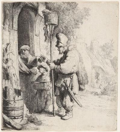 Rembrandt van Rijn, 'The Rat Catcher (The Rat Poison Peddler)', 1632