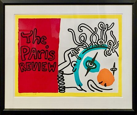 Keith Haring, 'The Paris Review ', 1989