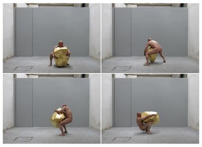 Nicolas Cardenas, 'Man and Gold (video)', 2013