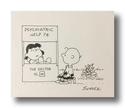 Charles M. Schulz, 'Psychiatric Help', ca. 1970s