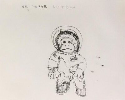 Tracey Emin, 'Space Monkey - We Have Lift Off', 2009