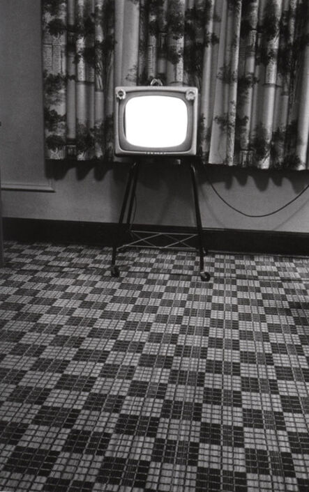 Elliott Erwitt, 'Motel room, Texas', 1962