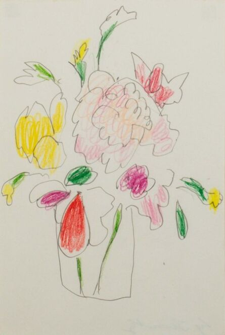 Cy Twombly, 'Flowers'