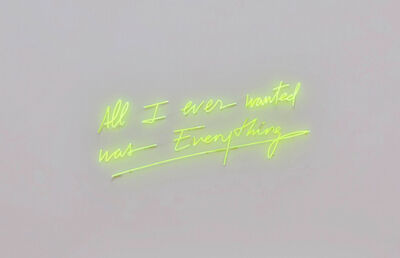 Olivia Steele, 'All I Ever Wanted Was Everything', 2018
