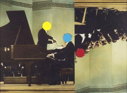 John Baldessari, 'Conductor/Pianist/Orchestra (Red/Yellow/Blue)', 1995/2007