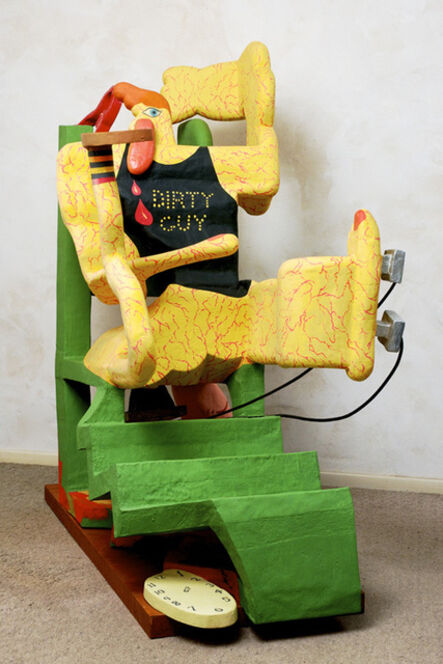 Peter Saul, 'Relax in Electric Chair (Dirty Guy)', 1965