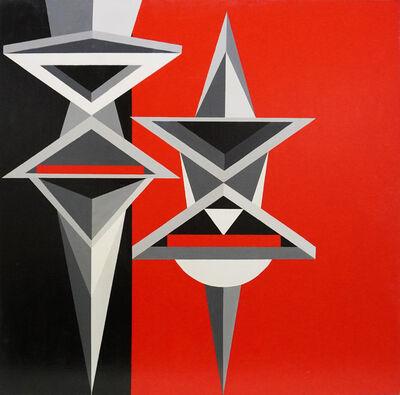 Tancredi Fornasetti, 'Rosso Grigio Nero (Red Gray Black)', 2016