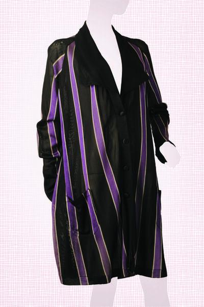 Unknown Designer, 'Silk Jersey Knee-length Duster Coat ', 1919