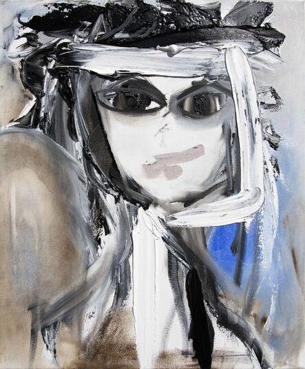 Lea Fisher, 'Self-Portrait Blue Monday', ca. 2018