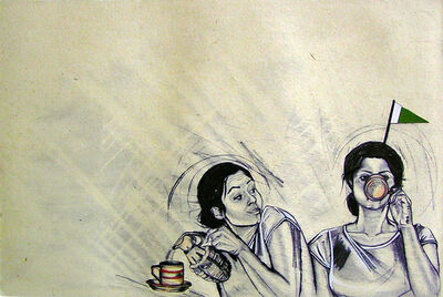 Sophiya Khwaja, 'Sneaky sneaky', 2010