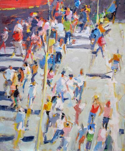 David Kapp, 'Red Awning', 2015