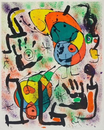 Joan Miró, 'Les Voyants: Six Plates', 1970