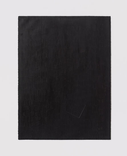 Stephen Antonakos, 'Untitled Cut, O#17', 1977