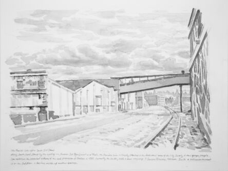 Zhi Lin, 'The Prairie Line After South 25th Street', 2017