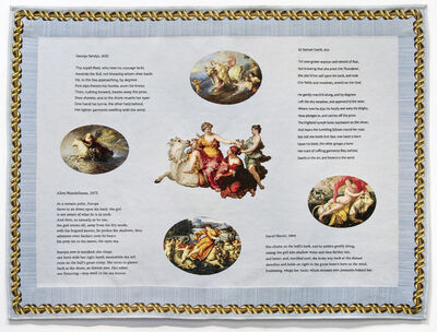 Elaine Reichek, 'Metamorphoses Tapestry', 2016