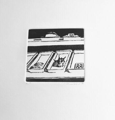 Wayne Thiebaud, 'Delicatessen Trays ', 1965
