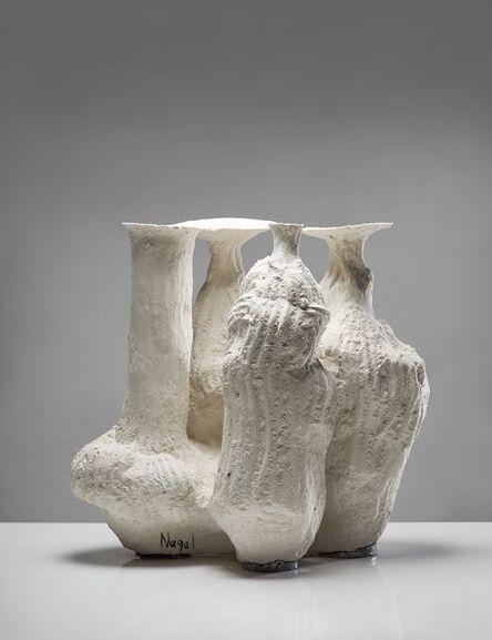 Johannes Nagel, 'White Cluster', 2019