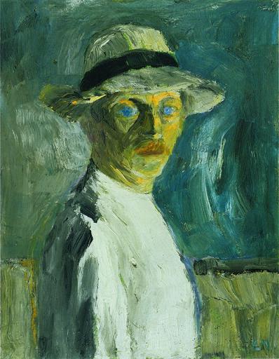 Emil Nolde, 'Selbstbild', 1917